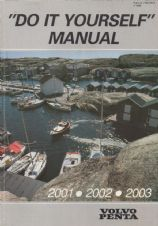 Paperback DIY Manual for Volvo Penta 2001, 2002, 2003 engines